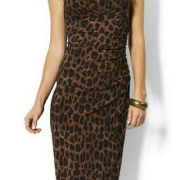 5ad086bd88 Lauren Ralph Lauren Dresses   Skirts - Lauren Ralph Lauren Leopard Print  Dress